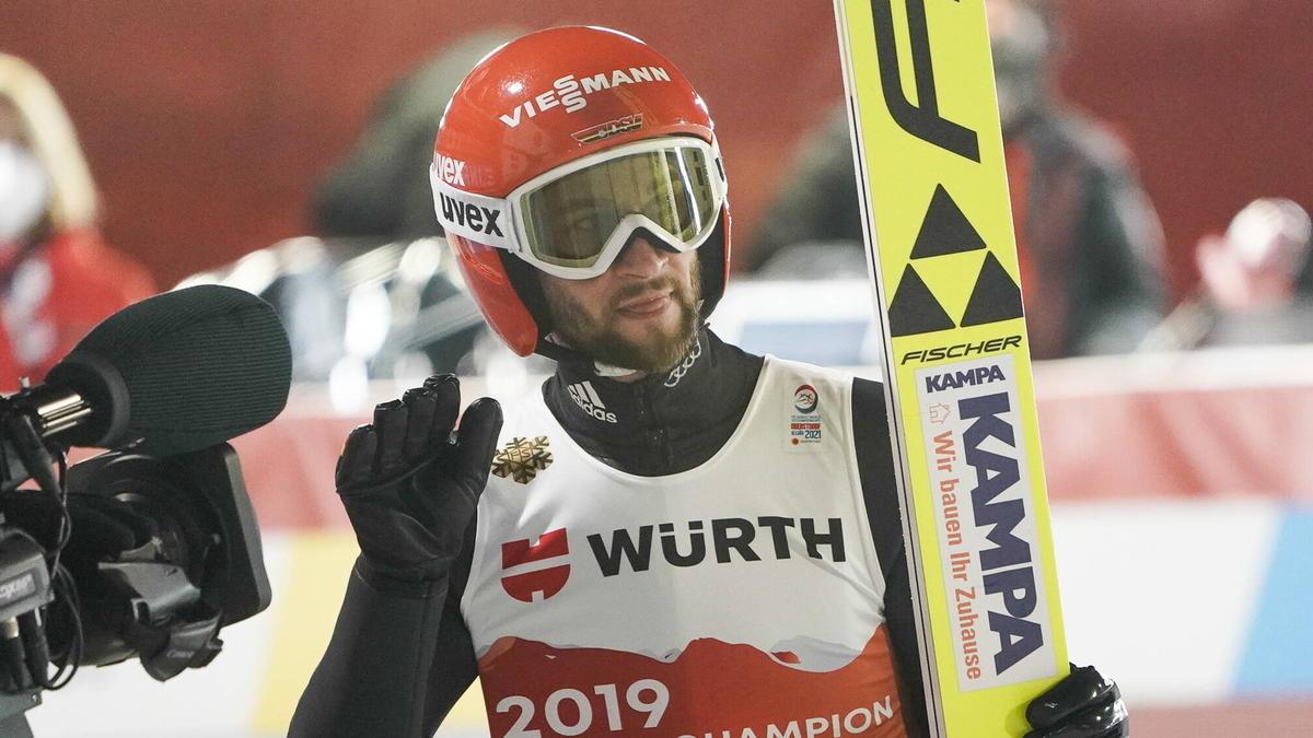 Markus Eisenbichler startet bei der WM in Oberstdorf
