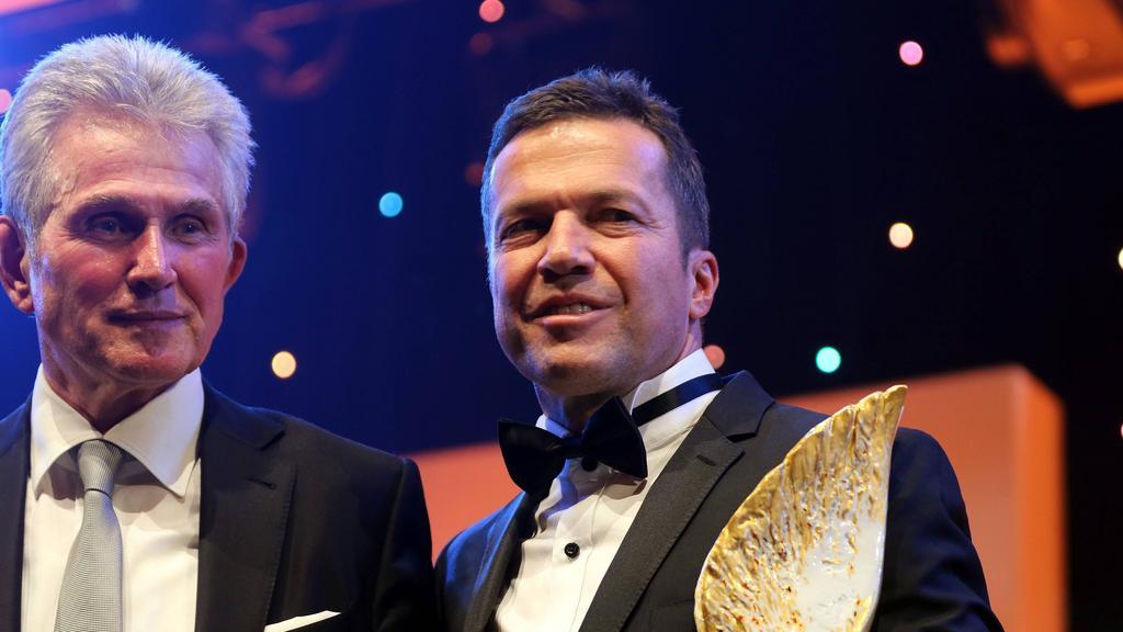 Sieht seinem 60. Geburtstag entgegen: Rekordnationalspieler Lothar Matthäus (r.)