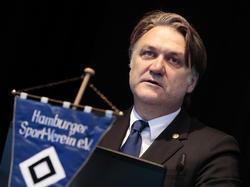 HSV-Vorstandschef Dietmar Beiersdorfer