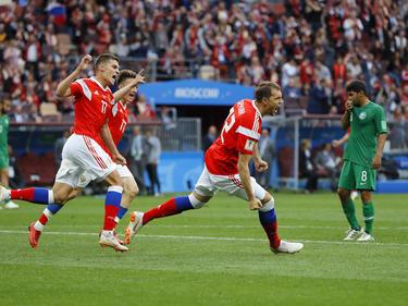 Rusia ha conseguido una goleada delante de sus compatriotas. (Foto: Getty)