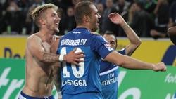 Lewis Holtby und Pierre-Michel Lasogga gehörten zu den HSV-Topverdienern