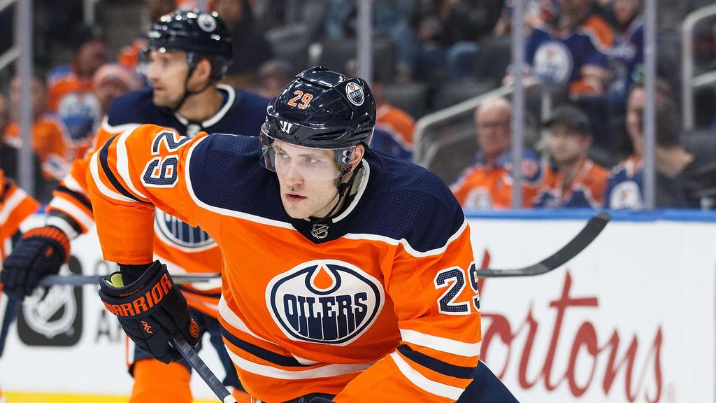 Leon Draisaitl konnte mit den Edmonton Oilers einen Heimerfolg feiern