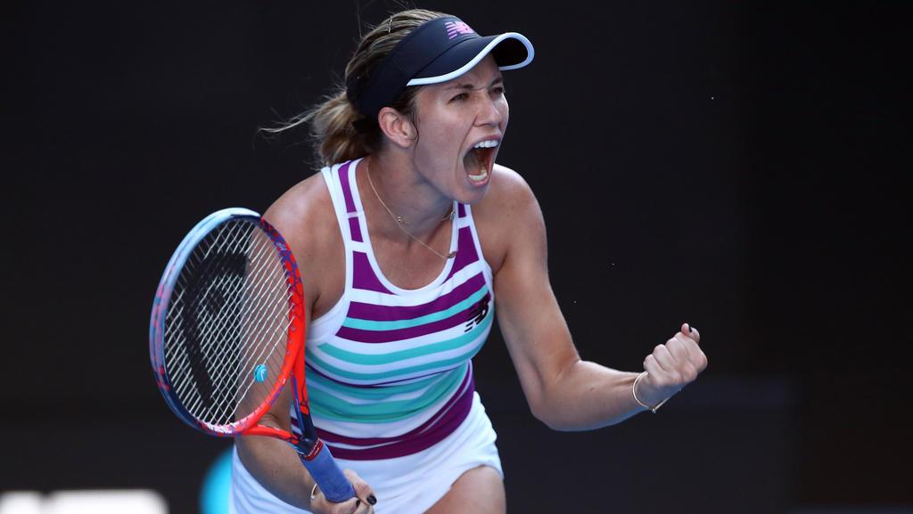 Danielle Collins feiert bei den Australian Open weiter Erfolge