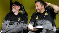 Manfred Schmid (r.) arbeitete beim BVB und kehrt zum 1. FC Köln zurück