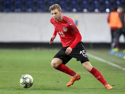 Zuletzt war Ullmann bei der U21-EM im Einsatz