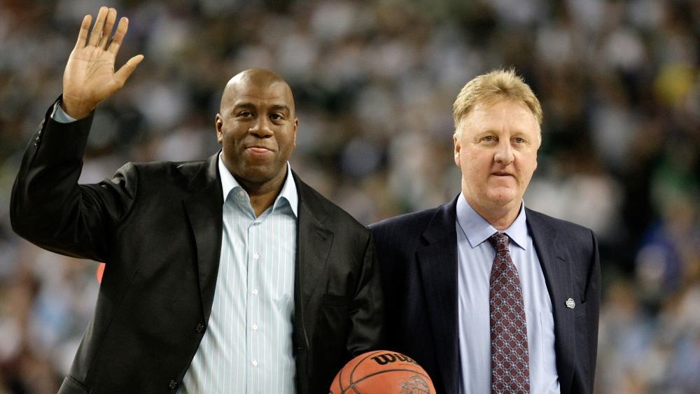 Auszeichnung: Johnson und Bird werden von der NBA geehrt