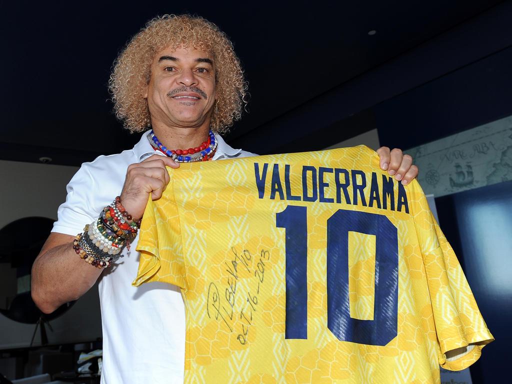 Valderrama lideró a la selección cafetera en tres Mundiales. (Foto: Getty)