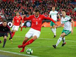 Wurde Zielscheibe der Pfiffe eigener Fans: Schweiz-Stürmer Haris Seferović