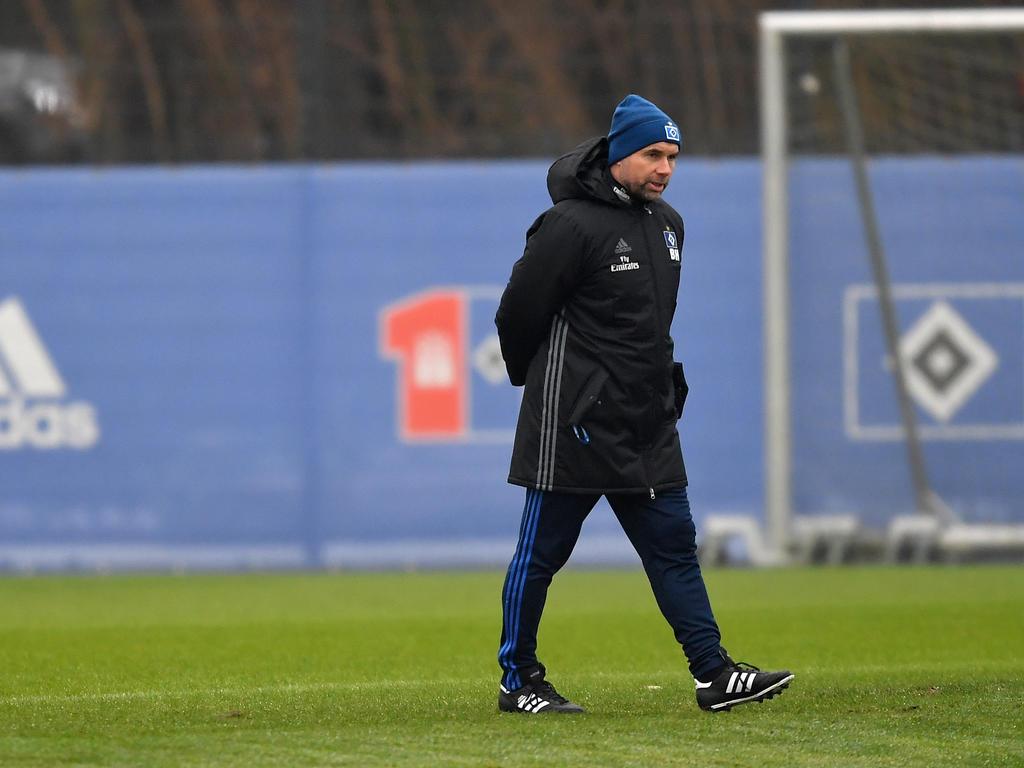 Bernd Hollerbach wurde zu Wochenbeginn beim HSV präsentiert