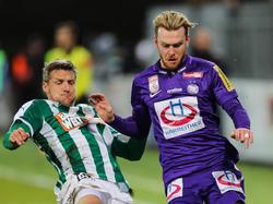 Kevin Friesenbichler (r.) wird auch in Osnabrück Violett tragen