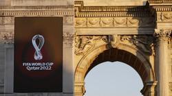 Die FIFA hat das Logo für die Fußball-WM 2022 in Katar vorgestellt