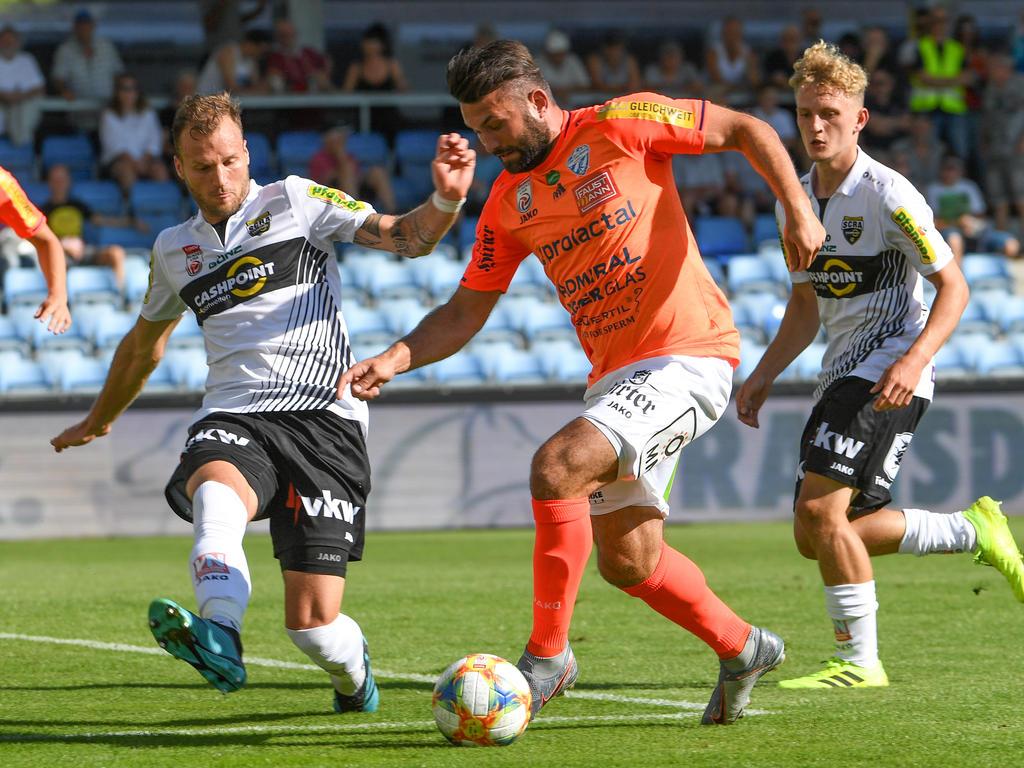 Dario Tadić traf dreifach, durfte aber dennoch nicht über einen Sieg jubeln