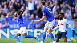 El Leicester se hizo fuerte ante su público.