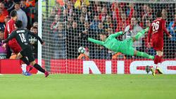Der FC Liverpool hat eine irre Partie gegen Salzburg gewonnen