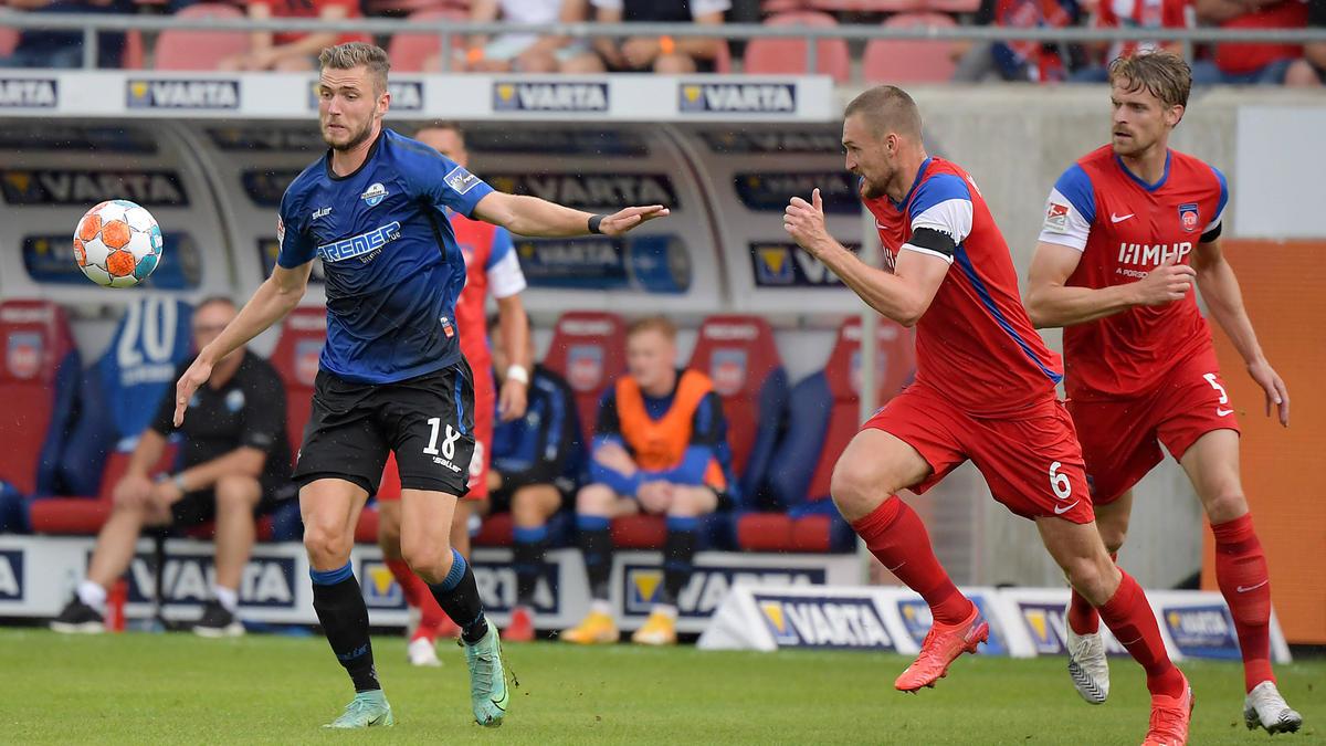 Der SC Paderborn und 1. FC Heidenheim trennen sich torlos