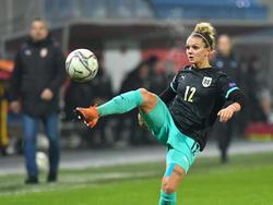 Wienroither im Nationalteam (Dezember 2020)