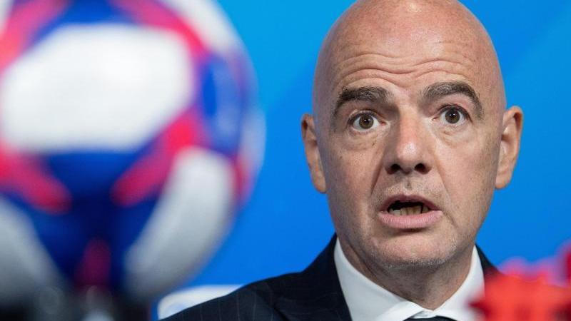Trifft sich nicht mit Vertretern des palästinensischen Fußballverbandes: FIFA-Boss Gianni Infantino