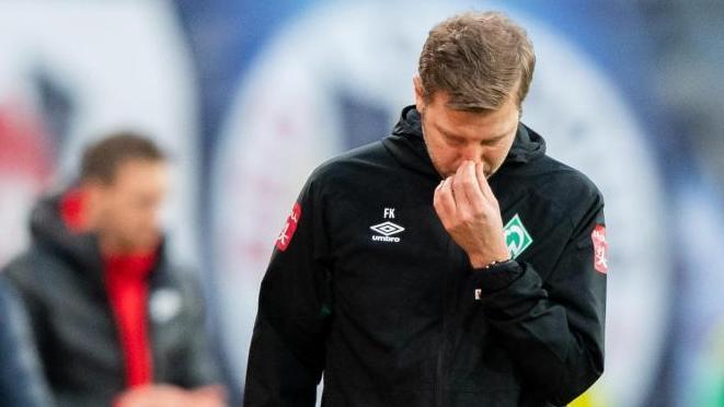 Werder-Coach Florian Kohfeldt hat in Bremen immer noch das Vertrauen