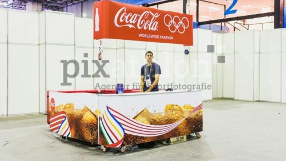Großsponsor der Olympischen Spiele: Coca Cola