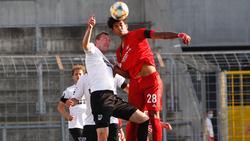 Der FC Bayern II setzte sich gegen Preußen Münster durch