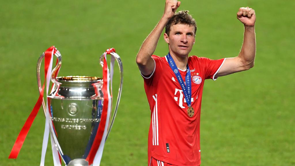 Thomas Müller holte zum zweiten Mal in seiner Karriere das Triple