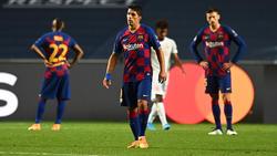 Luis Suárez (M.) wird wohl nicht zum FC Bayern wechseln