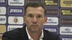 Andriy Shevchenko ist Nationaltrainer der Ukraine