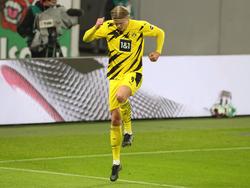 Erling Håland bejubelte gegen Leipzig seinen nächsten Doppelpack
