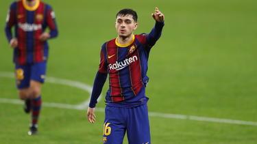 Pedri vom FC Barcelona soll das Interesse des FC Bayern geweckt haben
