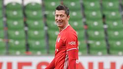 Robert Lewandowski vom FC Bayern jagt einen Rekord