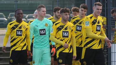 Luca Unbehaun ist die Nummer drei der BVB-Profis