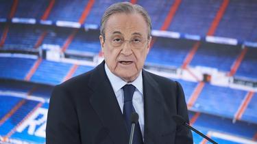 Florentino Pérez geht in seine sechste Amtszeit