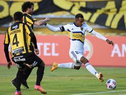 Vila marcó el gol del triunfo en La Paz.