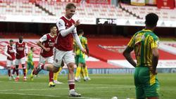 FC Arsenal gewinnt Premier-League-Duell gegen West Bromwich Albion