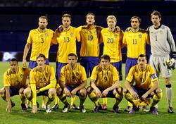2012: Schweden schlägt Kroatien mit 3:1