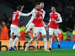 Arsenal feiert