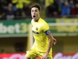 Bruno Soriano celebra un tanto con el Villarreal en El Madrigal. (Foto: Getty)