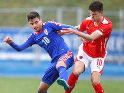 Kroatien behielt gegen Österreich die Oberhand