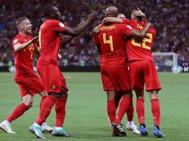 Bélgica se mete por fin en las semifinales de un Mundial. (Foto: Getty)