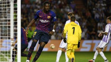 Ousmane Dembélé traf für den FC Barcelona