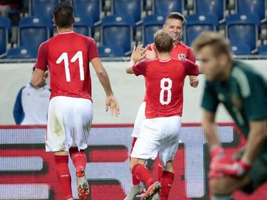 Österreichs U21 bejubelt den 3:2-Heimsieg über Russland