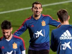 Jonny Otto (centro) en un entrenamiento con España. (Foto: Imago)