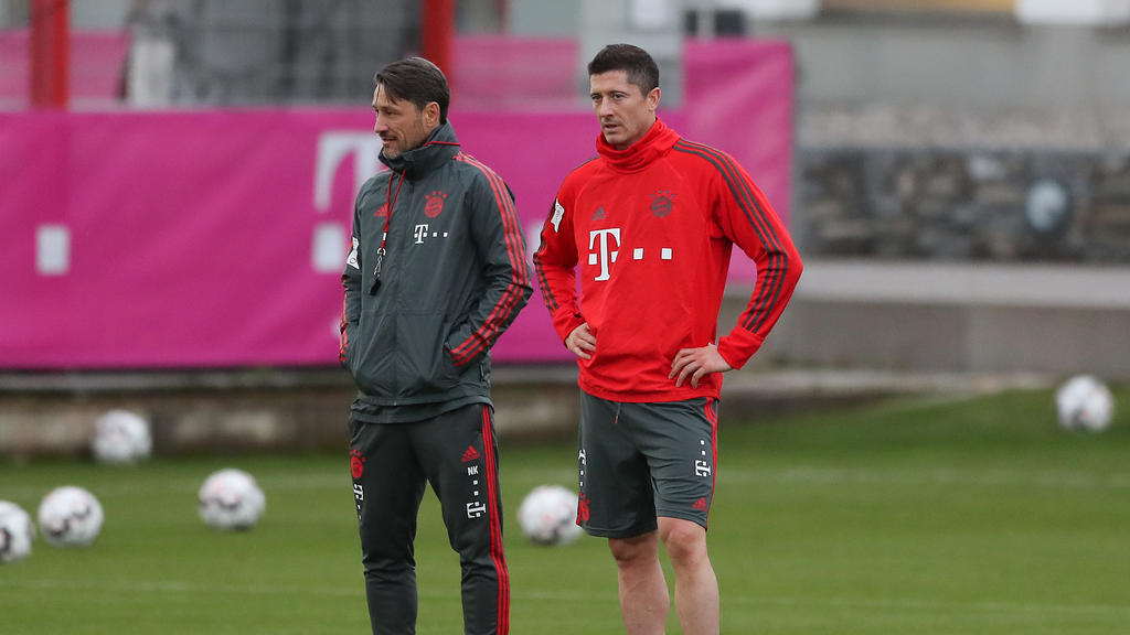 Niko Kovac (l.) glaubt an eine starke Rückrunde mit dem FC Bayern