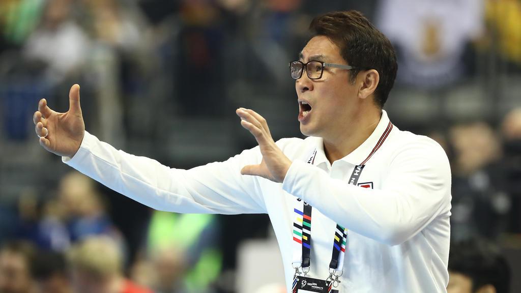 Young Shin Cho ist der Trainer von Korea