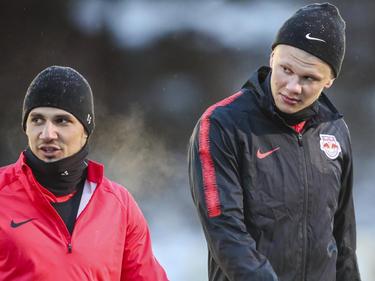 Patrick Farkas und Neuerwerbung Erling Braut Håland reisen mit Salzburg ins Trainingslager
