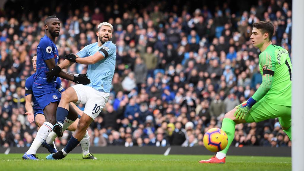 Manchester City feiert Kantersieg gegen den FC Chelsea