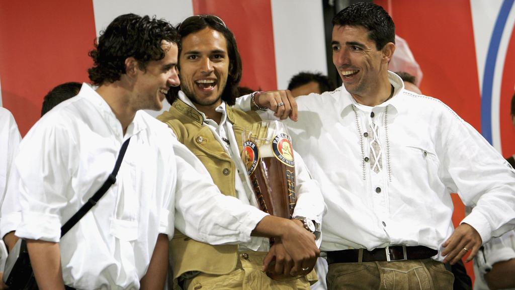 Roque Santa Cruz spielte acht Jahre beim FC Bayern