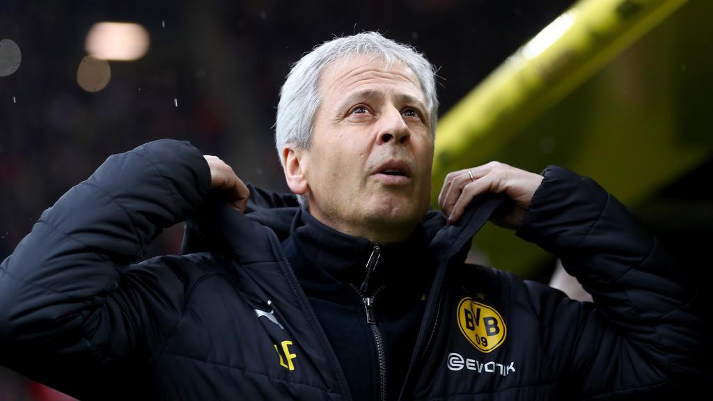Lucien Favre soll beim BVB noch in dieser Saison verlängern
