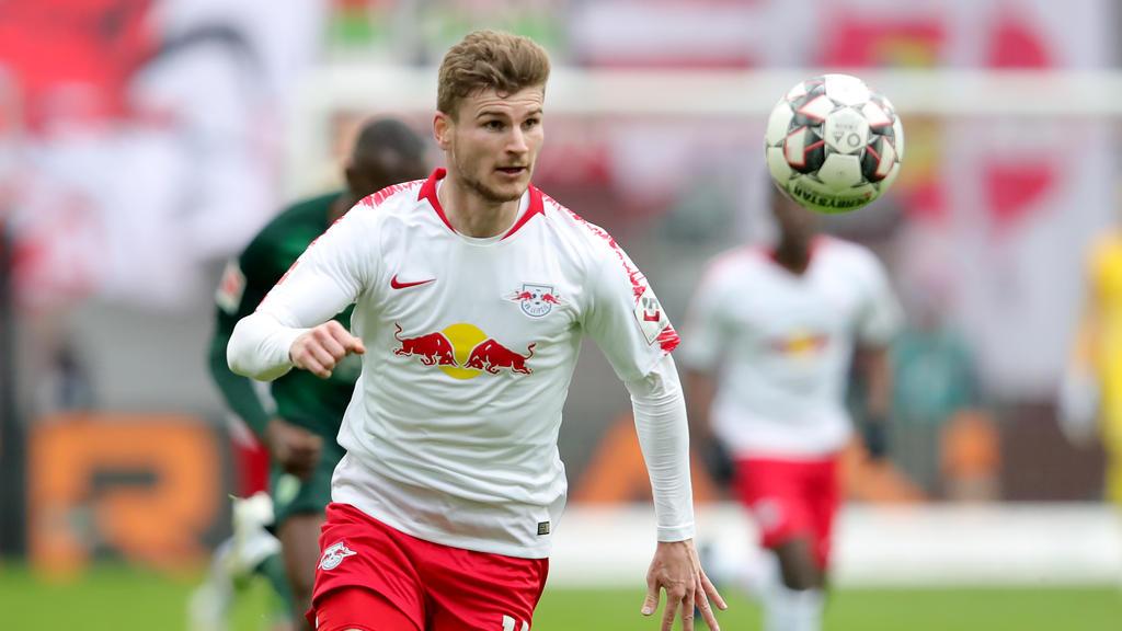 Timo Werner wird RB Leipzig wohl im Sommer verlassen