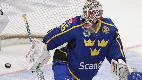 Torhüter Johan Gustafsson wechselt zu Adler Mannheim